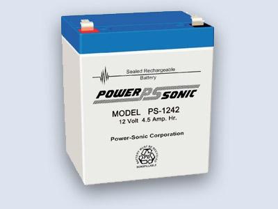 Power-Sonic 12V 4,5Ah Blei-Vlies Akku AGM PS-1242